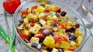 Фото рецепта Овощное рагу со сливами