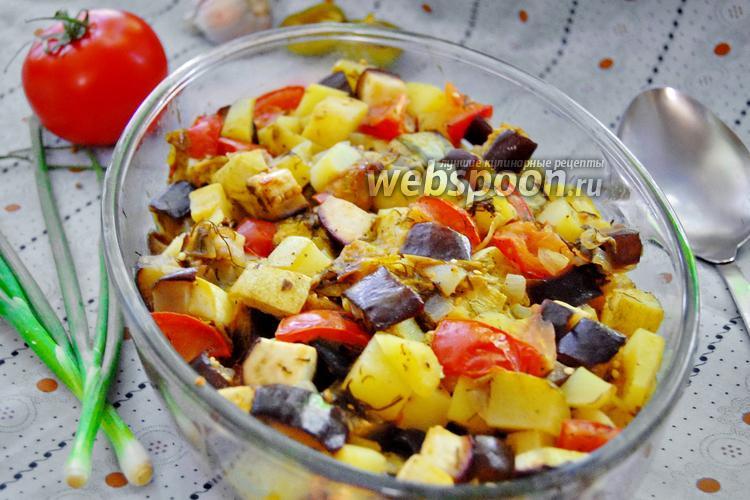 Фото Овощное рагу со сливами