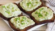 Фото рецепта Закуска из плавленого сыра и зелени