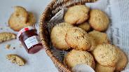 Фото рецепта Овсяное печенье с орехами