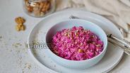 Фото рецепта Простой греческий салат со свёклой (Pantzarosalata)