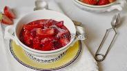 Фото рецепта Жареная клубника с коньяком