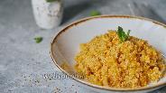 Фото рецепта Курица с кускусом и соусом чили