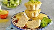 Фото рецепта Закусочные кексы с кускусом и курицей