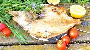 Фото рецепта Камбала на решётке
