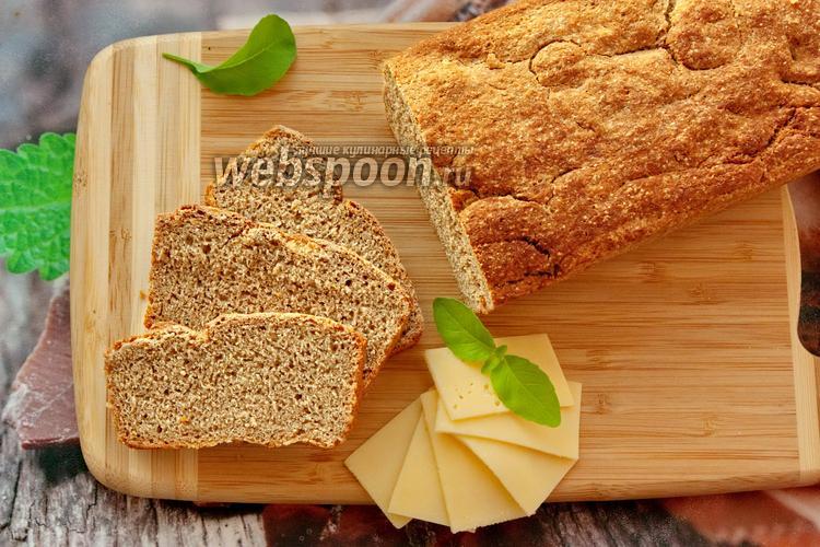 Фото Ржаной цельнозерновой хлеб без закваски