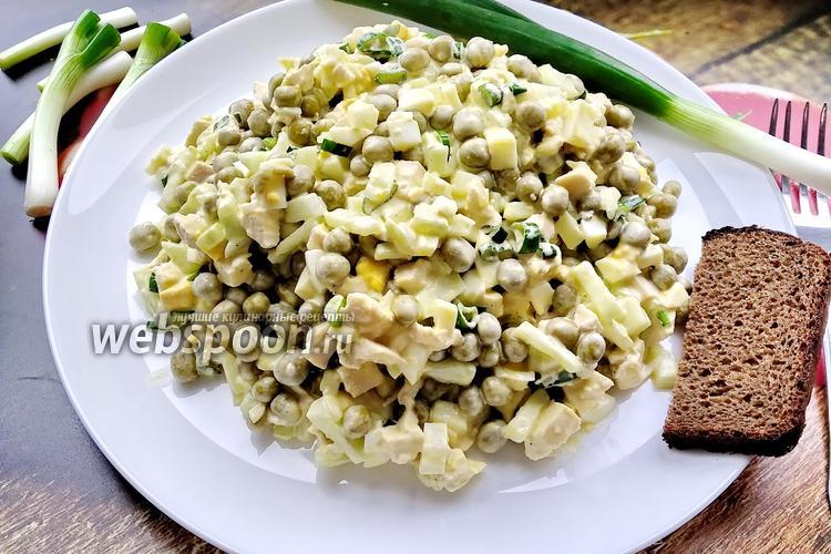 Фото Белковый ПП салат