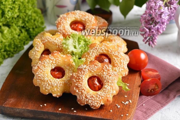 Фото Маффины с помидорами