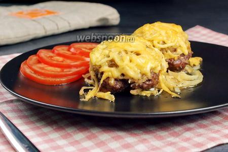 Стожки из фарша с картофелем и сыром. +Новые рецепты из фарша. Видео видео