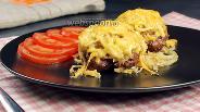 Фото рецепта Стожки из фарша с картофелем и сыром. +Новые рецепты из фарша. Видео