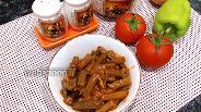 Фото рецепта Стручковая фасоль в томатном соусе на сковороде