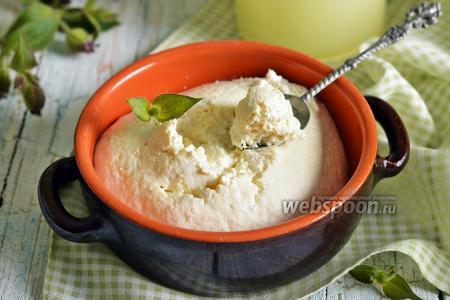 Фото рецепта Домашний сыр из сыворотки