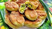 Фото рецепта Ленивые пирожки с луком и яйцом