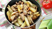 Фото рецепта Горячая сковородка со свининой