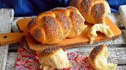 Фото рецепта Плетёнка на закваске Левито Мадре
