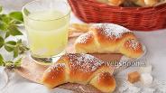 Фото рецепта Рогалики на сыворотке