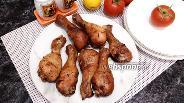 Фото рецепта Куриные голени в соево-медовом соусе