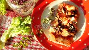 Фото рецепта Ленивая пицца из лаваша