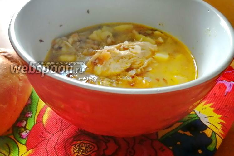 Фото Похлёбка с курицей и гречкой