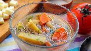Фото рецепта Чили-суп с чечевицей и фасолью