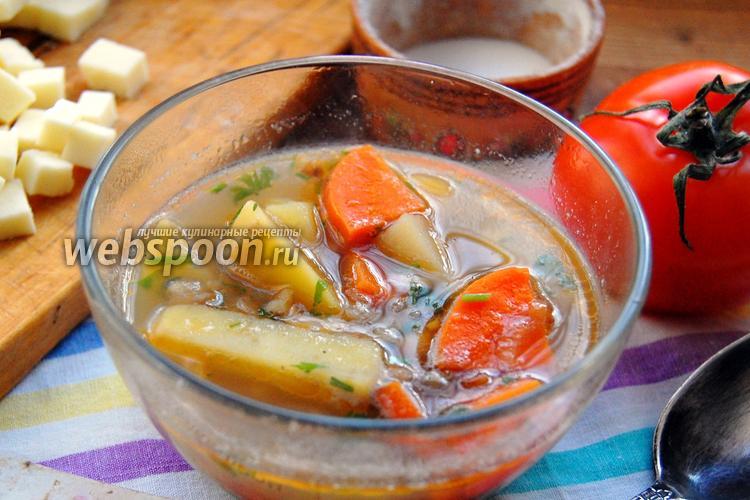 Фото Чили-суп с чечевицей и фасолью