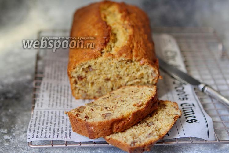 Фото Банановый хлеб с орехами
