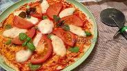Фото рецепта Пицца Маргарита на тортилье