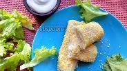 Фото рецепта Трубочки из лаваша с курицей и сыром