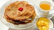 Фото рецепта Постные блинчики на рисовой муке