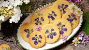 Фото рецепта Печенье с цветами
