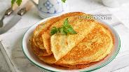 Фото рецепта Блины на кефире с кипятком
