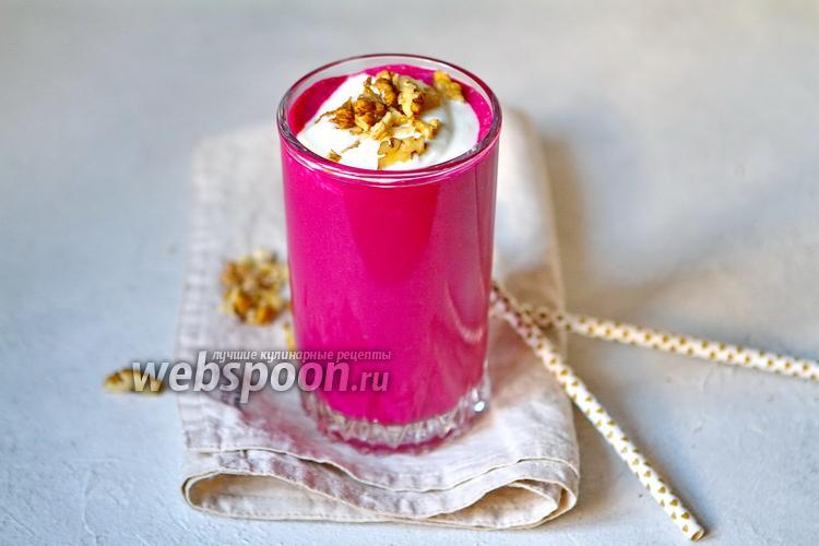 Фото Молочный смузи из свёклы