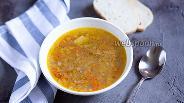 Фото рецепта Суп с зелёной гречкой