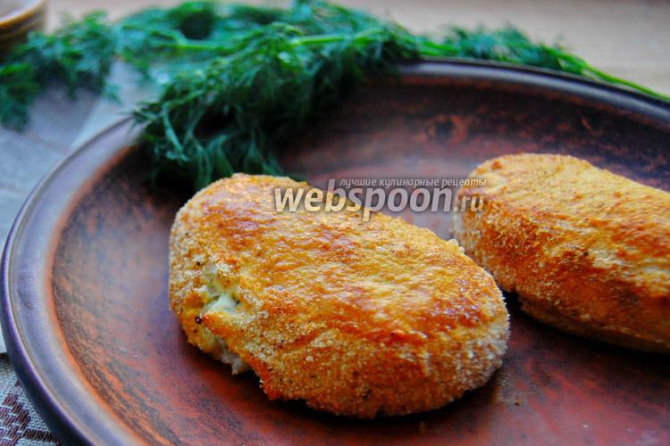 Фото Картофельные зразы с сыром фета и зеленью