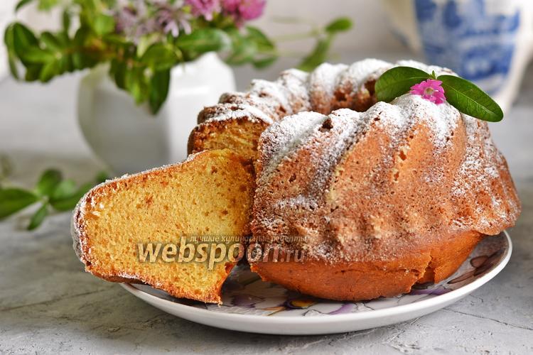 Фото Бразильский кукурузный пирог