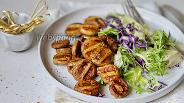 Фото рецепта Шампиньоны гриль в чесночном маринаде