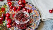 Фото рецепта Варенье из черешни с корицей
