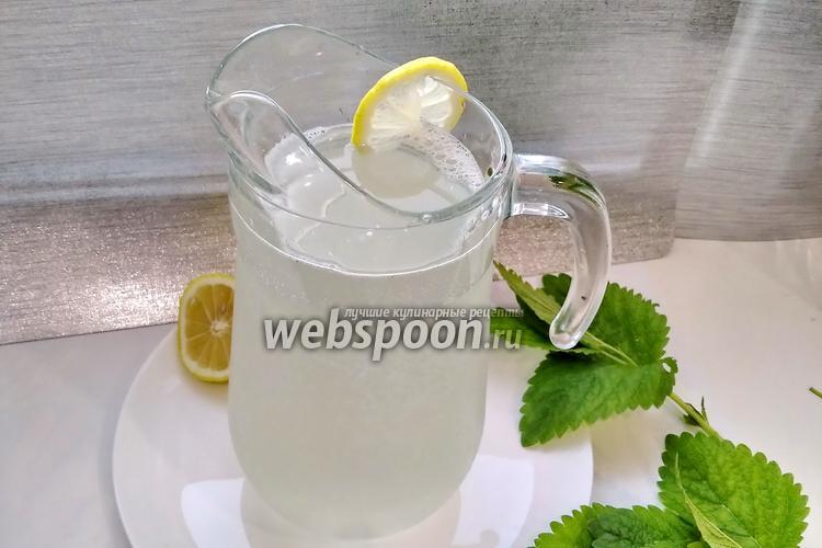 Фото Домашний лимонад из минералки