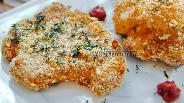Фото рецепта Хрустящие стейки из цветной капусты в духовке