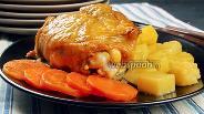 Фото рецепта Курица в банке с овощами. +3 новых рецепта из курицы. Видео