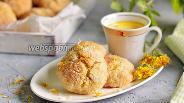 Фото рецепта Печенье «Одуванчик»