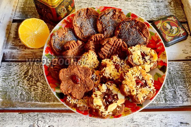 Фото Сладкое гречневое печенье без сахара и мёда