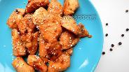 Фото рецепта Куриное филе в соево-медовом соусе