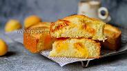 Фото рецепта Простой пирог с абрикосами