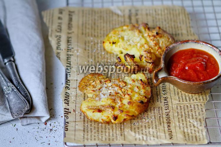 Фото Мятый картофель