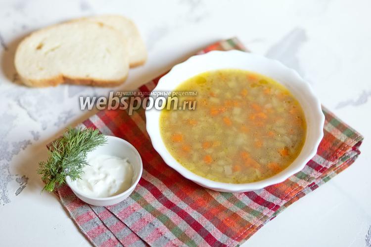 Фото Суп из чечевицы и ревеня