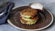 Фото рецепта Оладьи из кабачка и цветной капусты