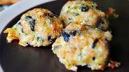 Фото рецепта Фрикадельки со шпинатом и сыром
