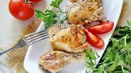 Фото рецепта Цыплёнок на сковороде под прессом