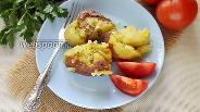 Фото рецепта Мятый молодой картофель в микроволновке